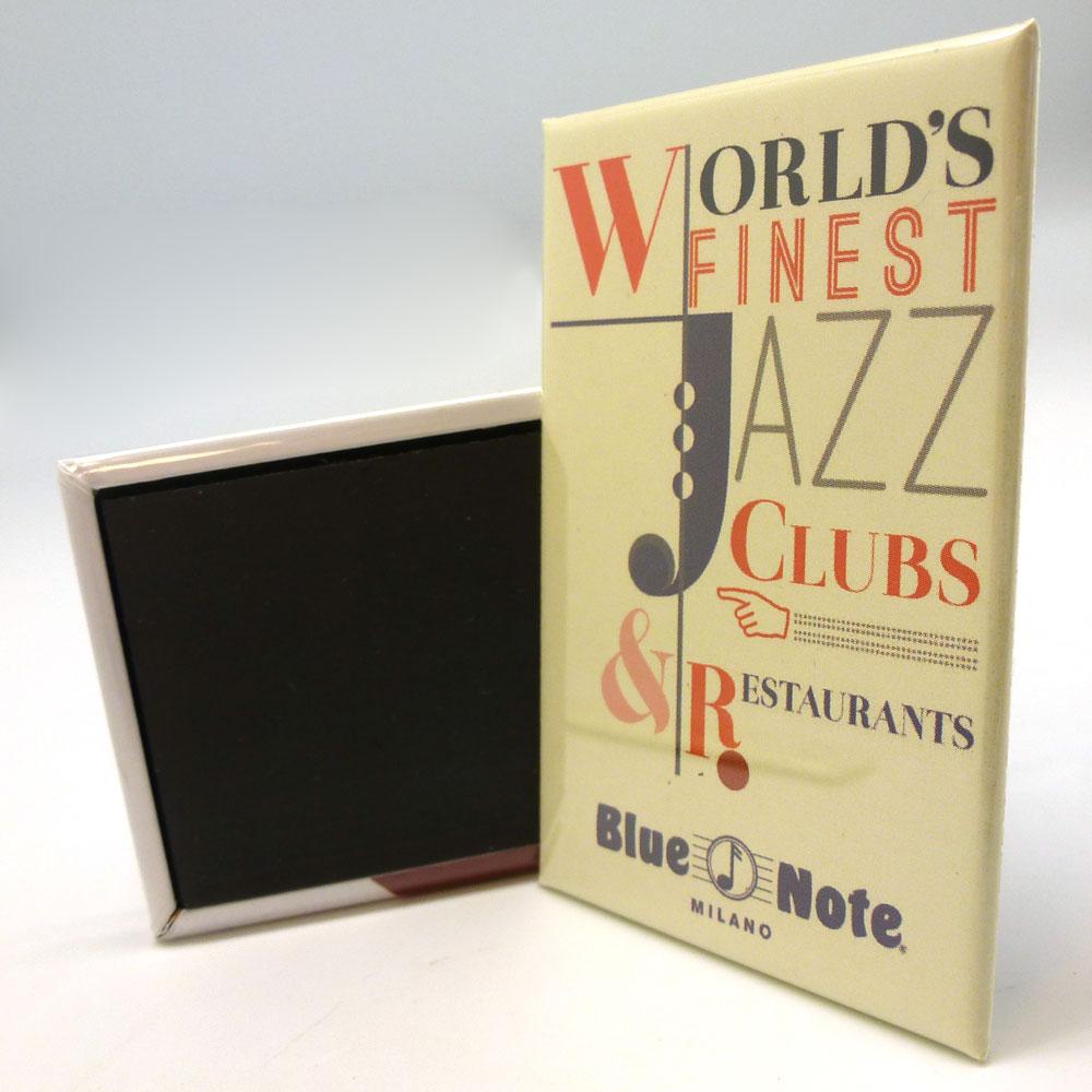 "Magnete Blue Note ""Lettering"""