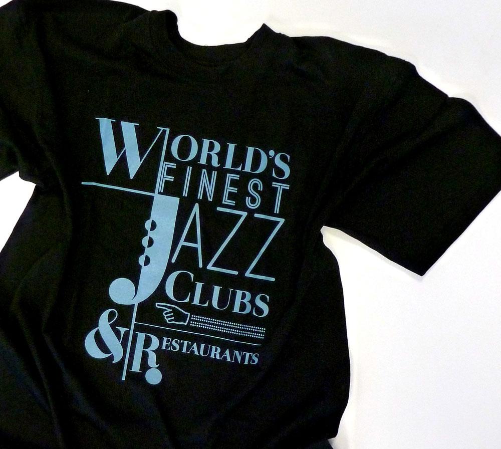 "T-Shirt Man ""Sax"" (Black)"