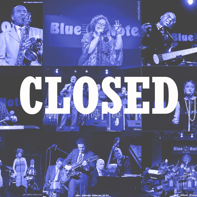 Closed 01/05/2014 21.00