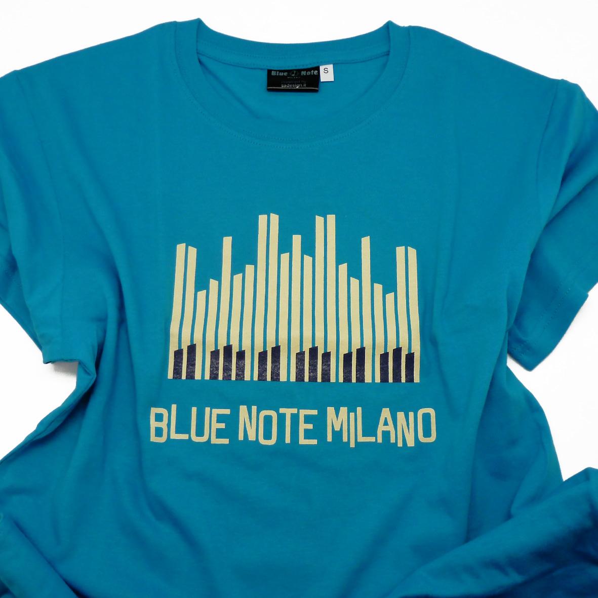 "T-Shirt Man ""Piano Solo "" (Light Blue)"
