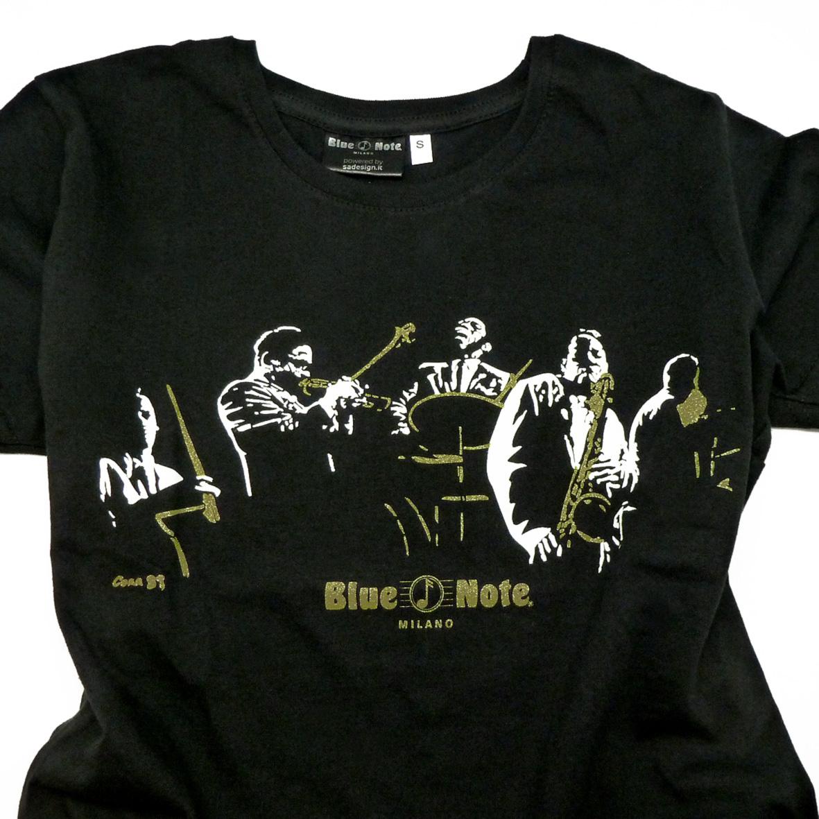 "T-Shirt Man ""Blue Note 5tet"" Black"
