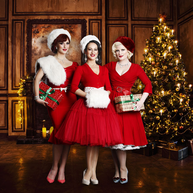 The Puppini Sisters 23/12/2016 21.00