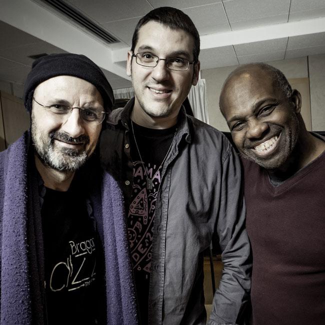 Roberto Tarenzi, James Cammack, Jorge Rossy Trio 28/01/2018 21.00