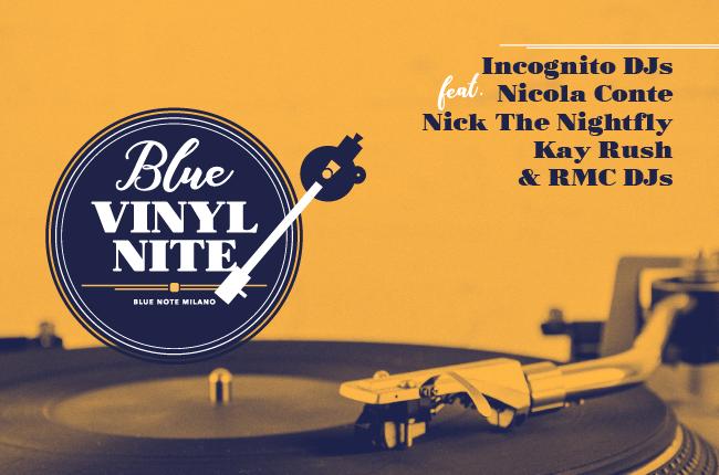 Blue Vinyl Nite  – 10 Marzo 2018