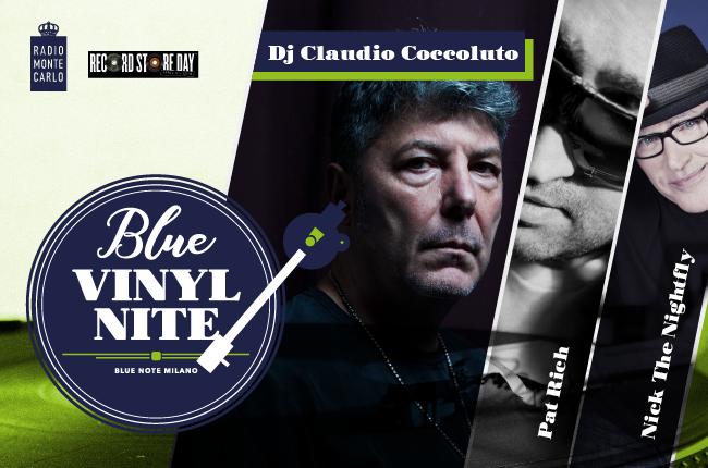 Blue Vinyl Nite Vol. 2  – 21 Aprile 2018