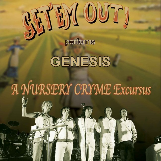 Get'em Out – GENESIS Tribute 15/01/2019 21.00