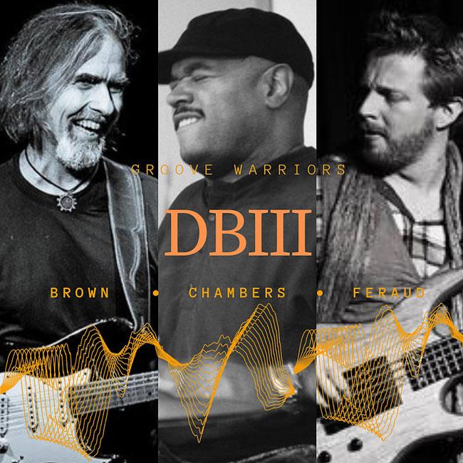 DBIII – Dean Brown Trio featuring Dennis Chambers and Hadrien Feraud 03/04/2019 23.00