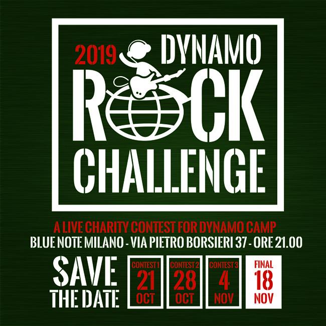 Evento di raccolta fondi a favore di Dynamo Camp 21/10/2019 20.00