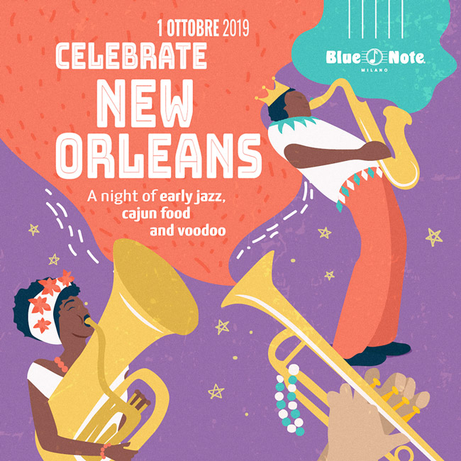Celebrate New Orleans! A Night of Early Jazz, Cajun Food and Voodoo 01/10/2019 21.00