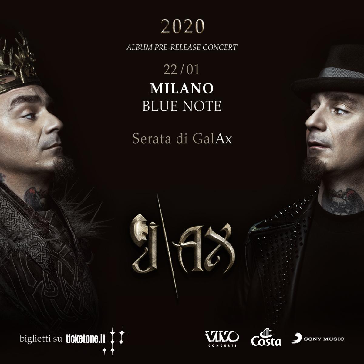 J-AX – Produzione Vivo Concerti 22/01/2020 21.00
