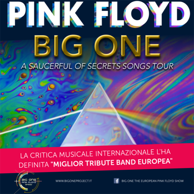 Big One – The European Pink Floyd Show (Part 1) 11/01/2020 21.00