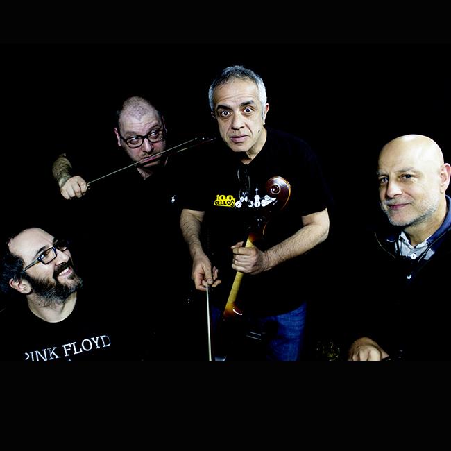 Brick On Cellos -Giovanni Sollima, Pietro Tonolo, Pancho Ragonese e Giovanni Giorgi 10/09/2020 21.00