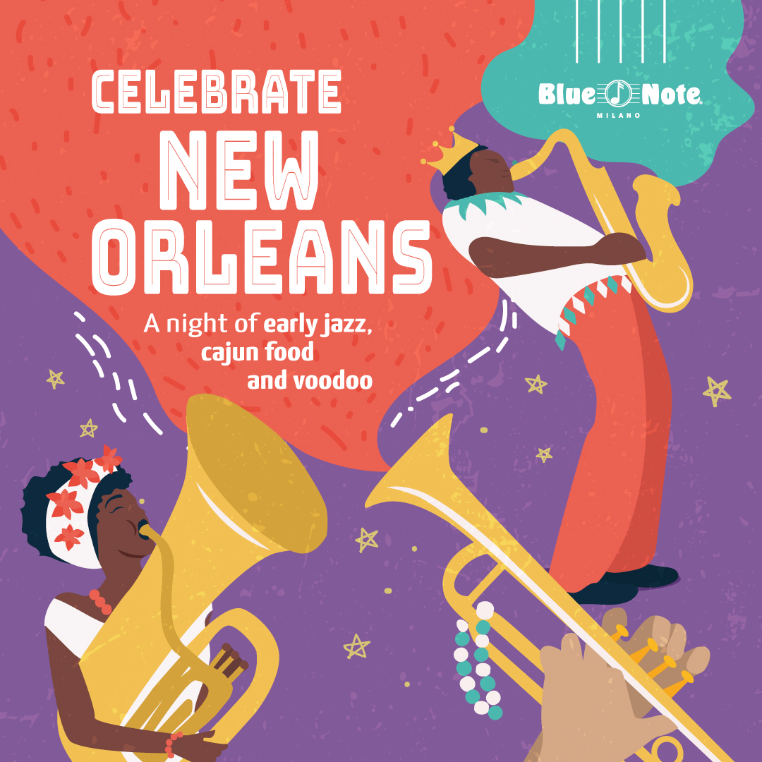 Celebrate New Orleans! A Night of Early Jazz, Cajun Food and Voodoo 07/01/2020 23.00