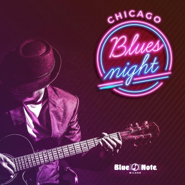 Chicago Blues Night – POSTICIPATA ALL' 8 APRILE 01/03/2020 21.00