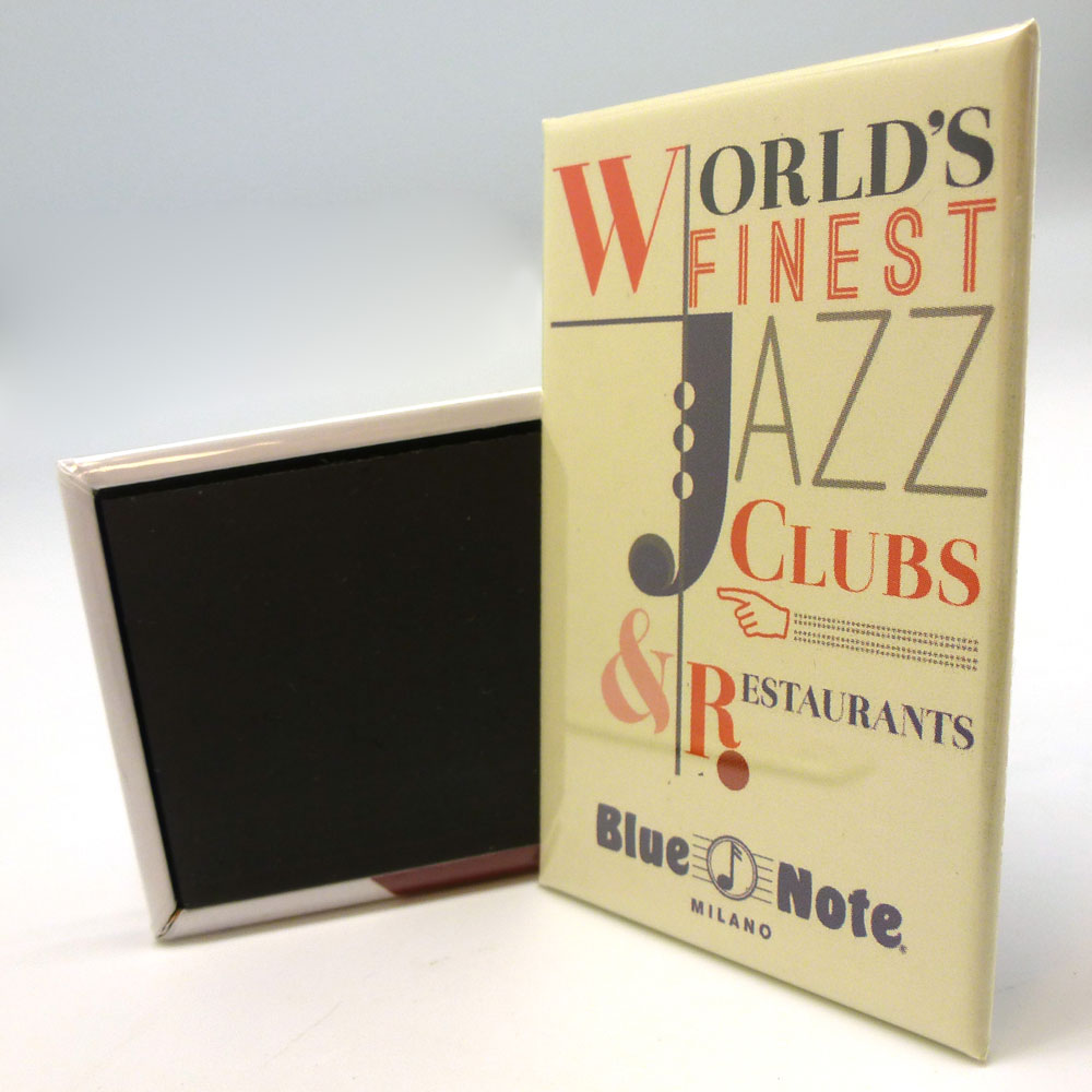 "Magnete Blue Note ""Lettering"""