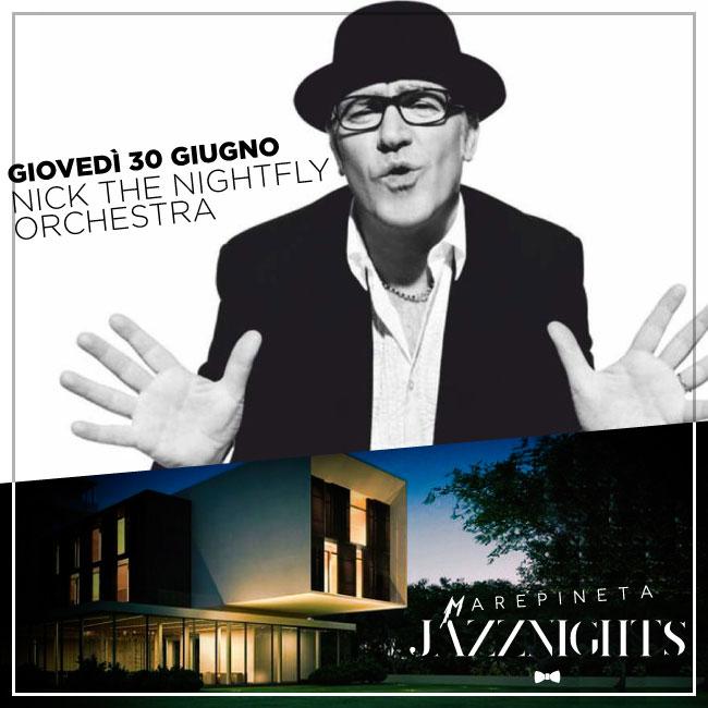 Concerto Nick The Nightfly Orchestra - 30 Giugno 2016 - Milano Marittima