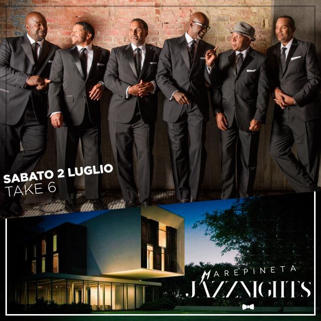 Concerto Take 6 - 2 Luglio 2016 - Milano Marittima