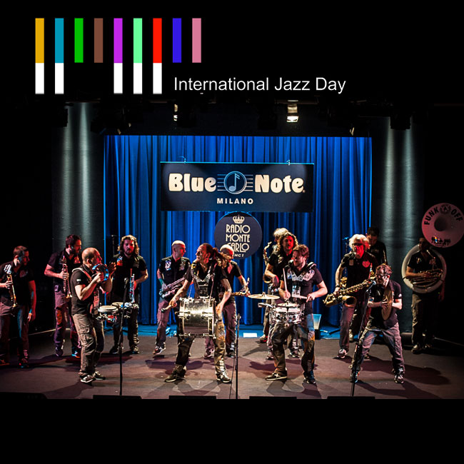 Funk Off – International Jazz Day 2017 30/04/2017 21.00