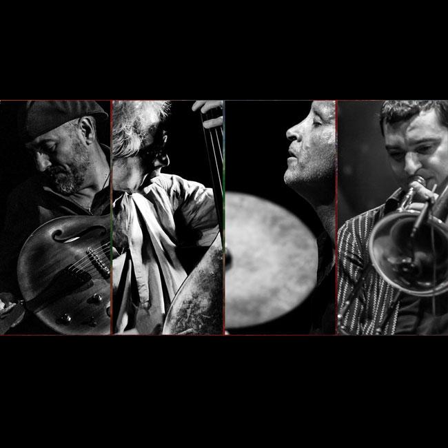 """Ferra – Dalla Porta – Sferra feat. Petrella """"Frames of Crimson"""" 02/04/2017 21.00"""