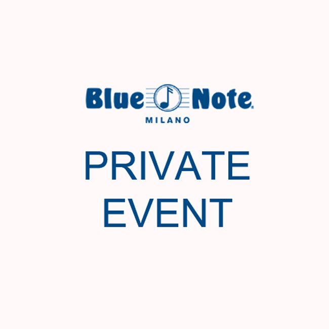 Privat Event 12/09/2017 20.00
